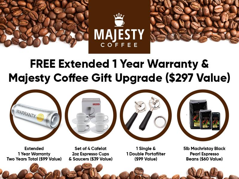 MAJESTY COFFEE GIFT UPGRADE
