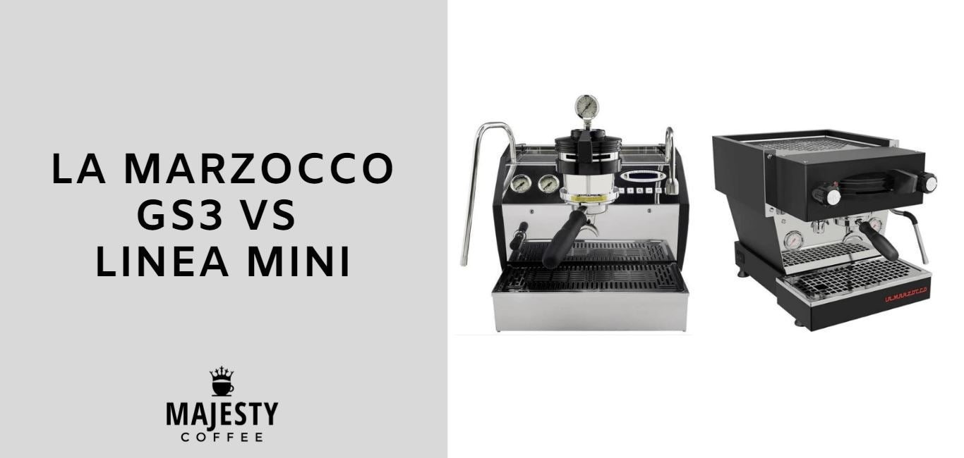 La Marzocco GS3 vs Linea Mini