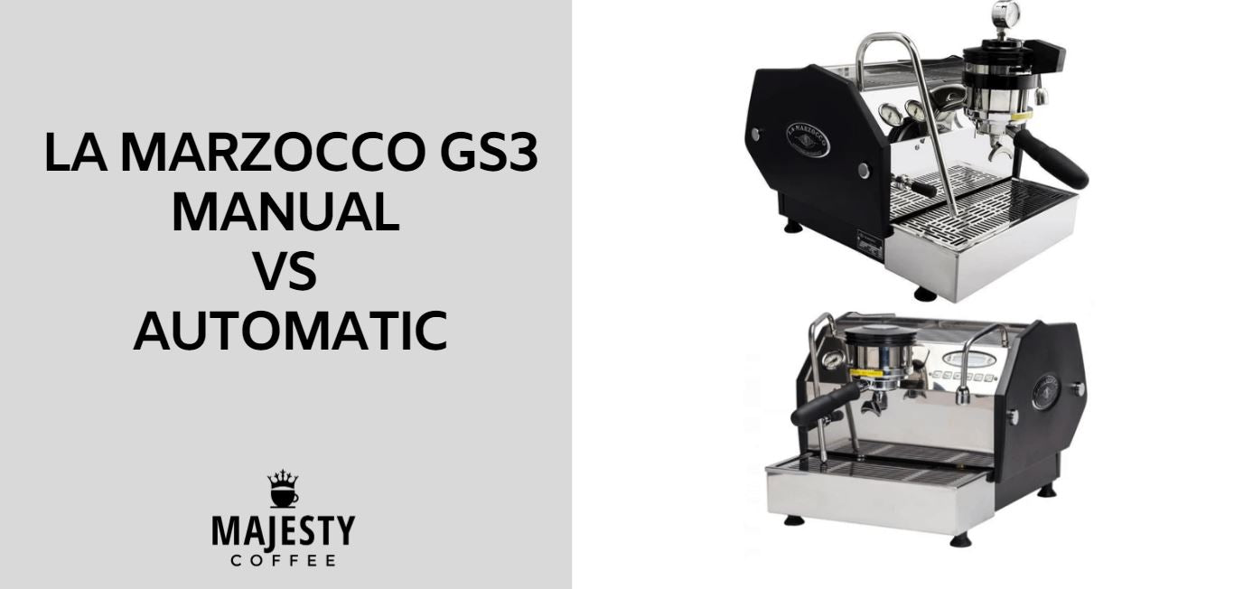 La Marzocco GS3 Manual vs Automatic
