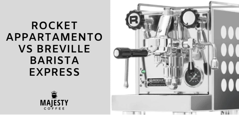 rocket appartamento vs breville barista express