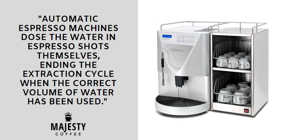 automatic espresso machine - tip for small business