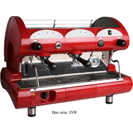 La Pavoni Commercial Volumetric 2 Group Espresso Machine BAR-STAR 2V