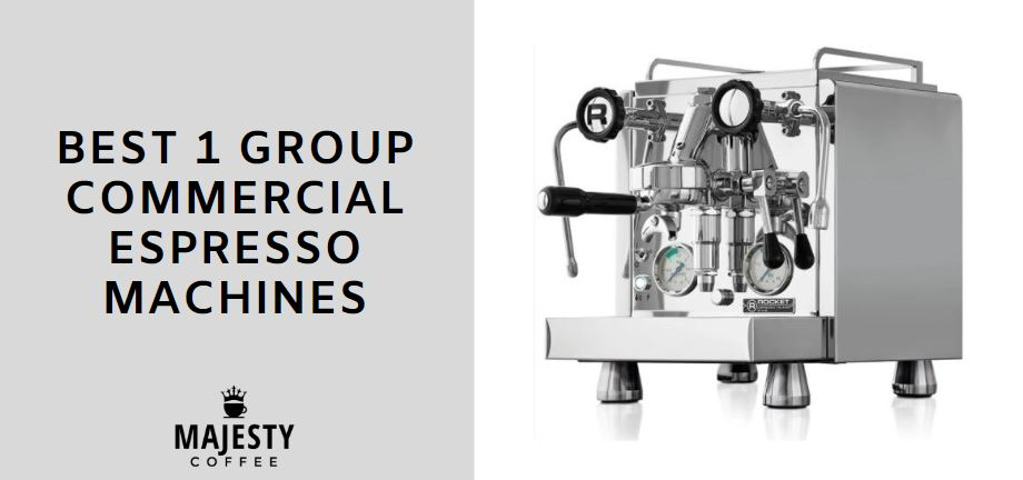 best 1 group commercial espresso machines