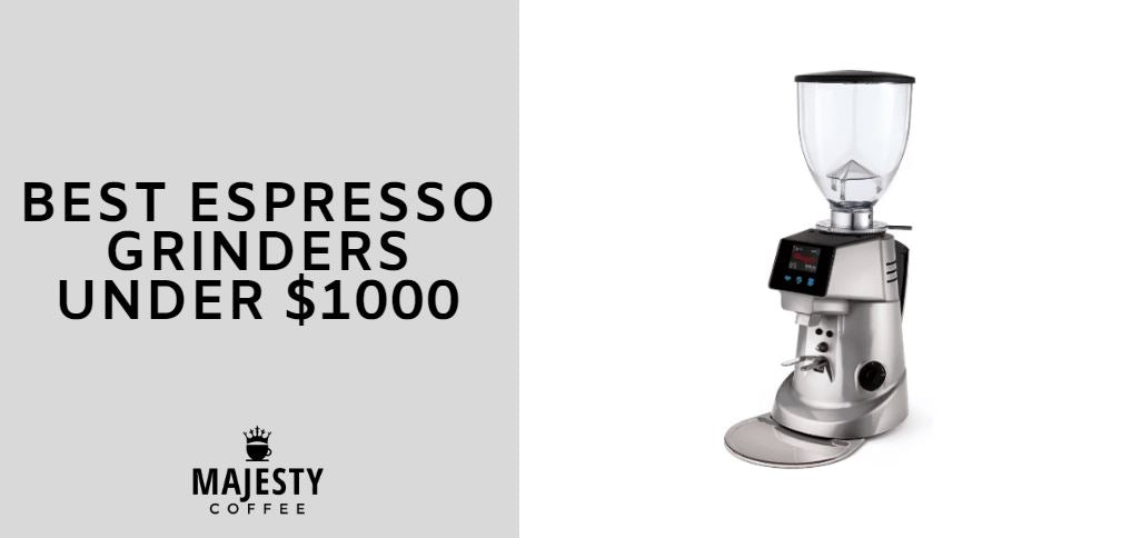 best espresso grinders under 1000
