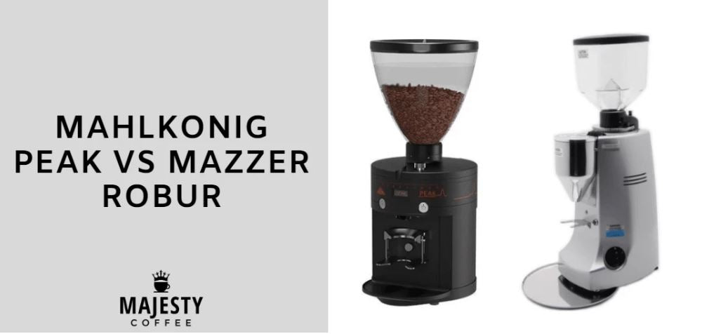 mahlkonig peak vs mazzer robur