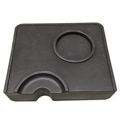 Corner Tamping Mat with Portafilter Holder - Majesty Coffee