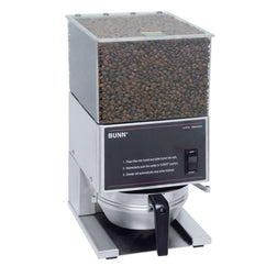 BUNN LPG, Low Profile Portion Control Coffee Grinder 1 Hopper  20580.0001