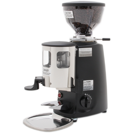 Mazzer Mini Doser & Timer Short Hopper Coffee Grinder 2811 - Majesty Coffee