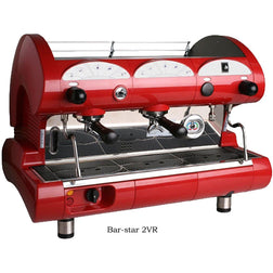 La Pavoni Commercial Volumetric 2 Group Espresso Machine BAR-STAR 2V - Majesty Coffee