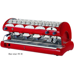 La Pavoni Commercial Volumetric Espresso Machine BAR-STAR 4V