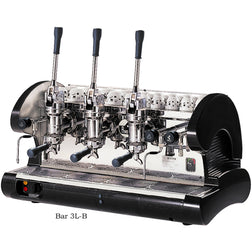 La Pavoni 3 Group Commercial Lever Espresso Machine BAR 3L