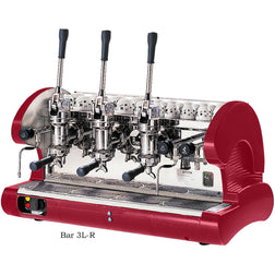 La Pavoni 3 Group Commercial Lever Espresso Machine BAR 3L - Majesty Coffee