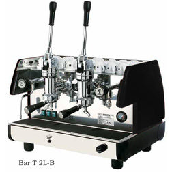 La Pavoni Commercial Lever 2 Group Espresso Machine BAR T 2L