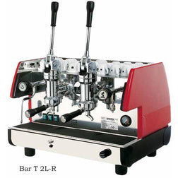 La Pavoni Commercial Lever 2 Group Espresso Machine BAR T 2L - Majesty Coffee
