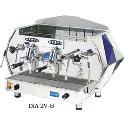 La Pavoni 2 group Volumetric Commercial Espresso Machine DIA 2V-B