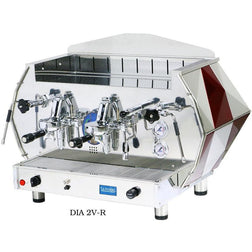 La Pavoni 2 group Volumetric Commercial Espresso Machine DIA 2V-B - Majesty Coffee