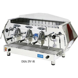 La Pavoni DIA 3V-B, 3 Group Volumetric, Commercial Espresso Machine - Majesty Coffee