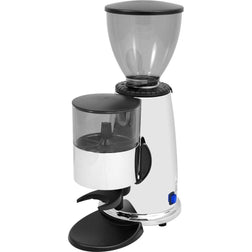 Macap Doser Stepped Chrome Commercial Espresso Grinder M2C83 - Majesty Coffee