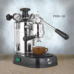 La Pavoni Professional Black Base Espresso Machine PBB-16 - Majesty Coffee