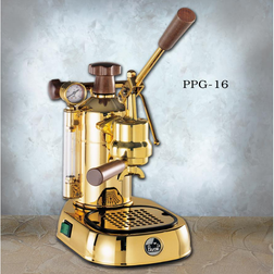 La Pavoni Professional 16 cup Espresso Machine PPG-16 - Majesty Coffee