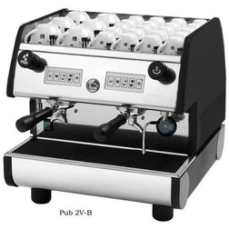 La Pavoni 2 Group volumetric Commercial Espresso Machine PUB 2V-B - Majesty Coffee
