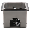 Image of Krome Dispense Pitcher Rinser - Countertop - Majesty Coffee