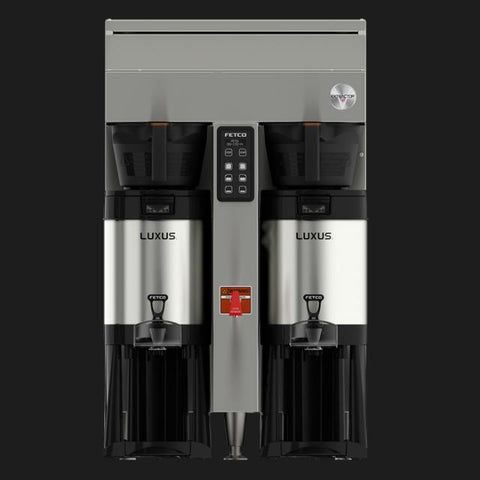 Fetco CBS-1152-V+ Twin Station Coffee Brewer 2x3.0 kW/3x3.0 kW E115251 - Majesty Coffee