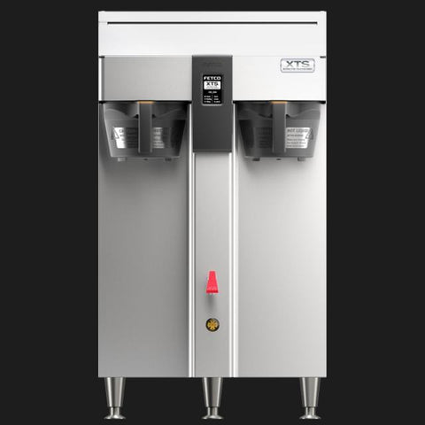 Fetco CBS-2152XTS-2G Twin Station Coffee Brewer 2x5.0 kW/3x5.0 kW E215352 - Majesty Coffee