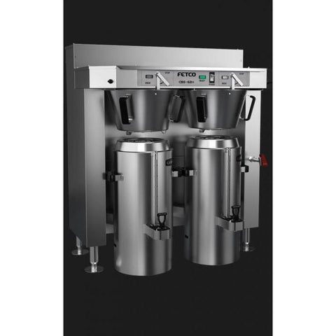 Fetco IP44 CBS-62H-30 Dual Station Brewer 6x4.0 kW/440-480V C62186MIP - Majesty Coffee