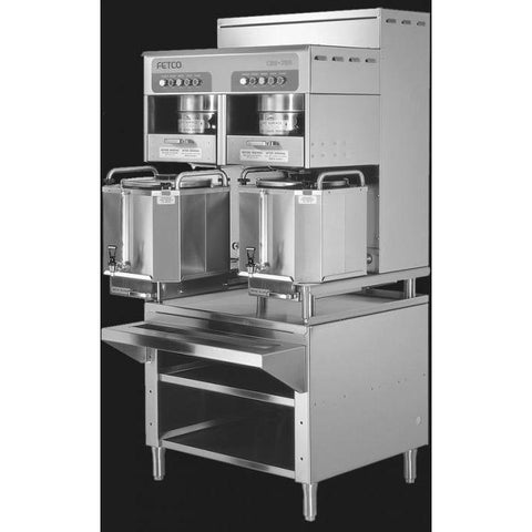 Fetco CBS-72A Dual Station Brewer 2x(3x10.0) kW/440-480V C72047 - Majesty Coffee