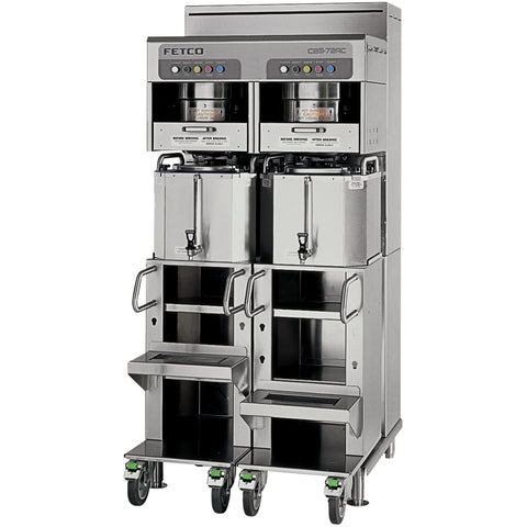 Fetco CBS-72AC Dual Station Brewer 2x(3x10.0) kW.440-480V C72048 - Majesty Coffee