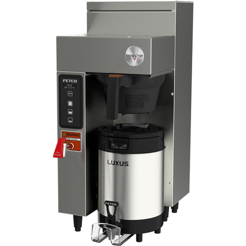 Fetco CBS-1131-V+ Single Station Coffee Brewer 1x1.5 kW/100-120V E113153 - Majesty Coffee