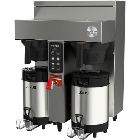 Fetco CBS-1132-V+ Twin Station Coffee Brewer 2x3.0 kW/200-240V E113251 - Majesty Coffee
