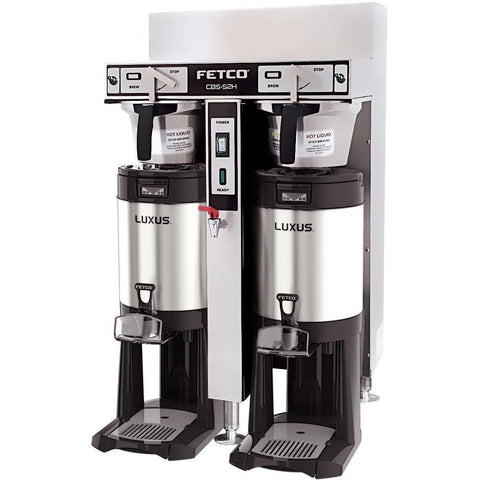 Fetco IP44 CBS-52H-15 Dual Station Brewer 2x2.8 kW/220-240V C52246MIP - Majesty Coffee