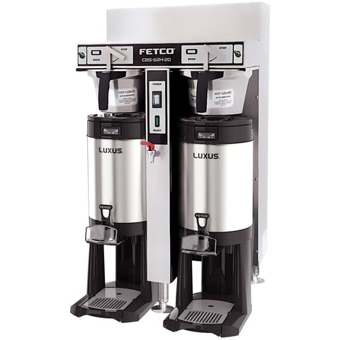 Fetco IP44 CBS-52H-20 Dual Station Brewer 3x4.0 kW/440-480V C53226MIP - Majesty Coffee