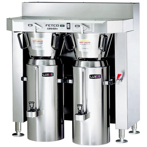 Fetco IP44 CBS-62H-30 Dual Station Brewer 3x3.0 kW/220-240V C62206MIP - Majesty Coffee