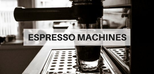 espresso machines for sale