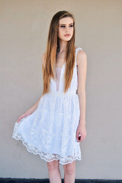 Dress | Lace White