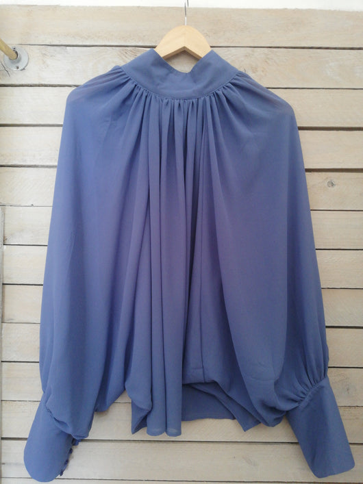 Blouse | Halter Pleated