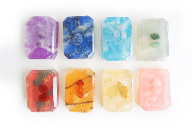 Large Energy Chakra Soap Set