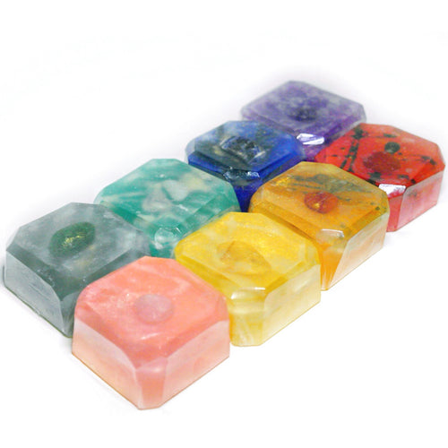 MINI ENERGY CHAKRA SOAP SET