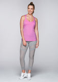 Monica Excel Tank - Grape Sorbet Marl
