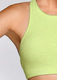 Cindy Sports Bra (lime green)