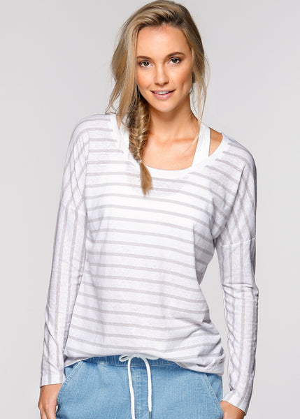 Belle L/SLV Casual Top