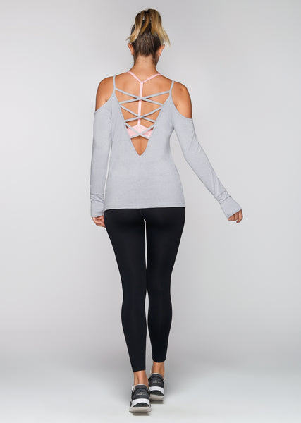 Breathe Easy L/SLV Active Top
