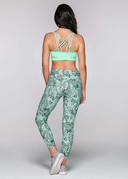 Inhale Sports Bra/Peppermint
