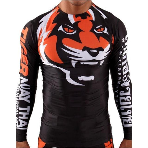 Tiger Muay Thai Rash Guard - MMA P4P SHOP