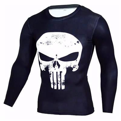 The Punisher CoolDry Rash Guard