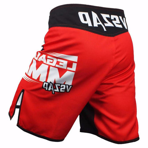 VSZ Red Kickboxing & BJJ Shorts