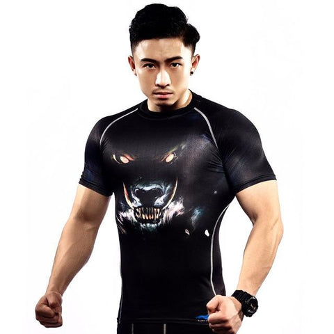 Tunse Quick Dry Rash Guard (Wolf)